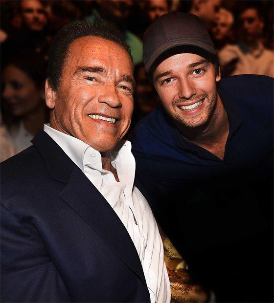 Arnold Schwarzenegger Patrick Schwarzenegger