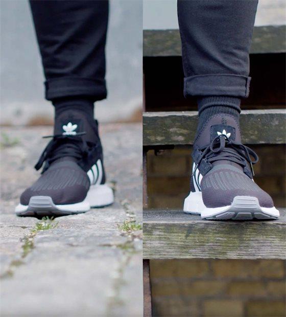 Sneakers-on-foot